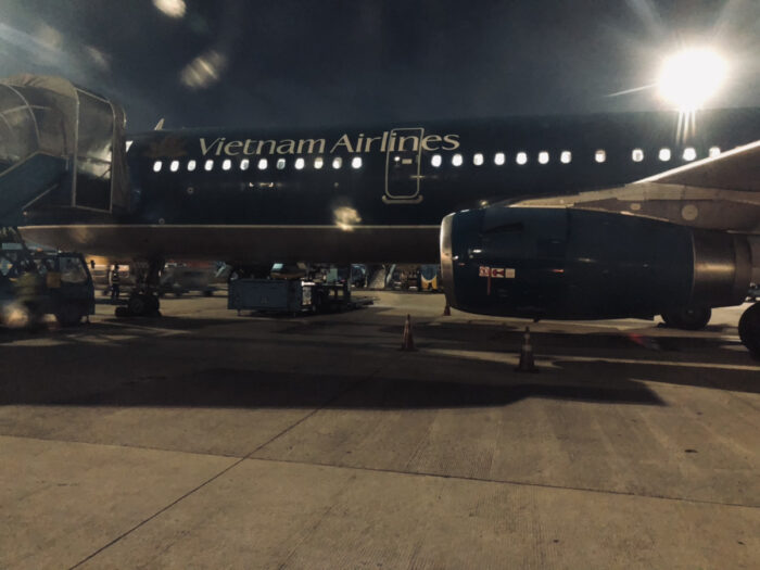ベトナムエアラインの機体
